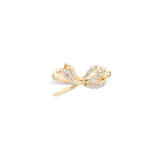 Pavé Bow Ear Cuff