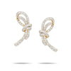 Large Pavé Forget Me Knot Posts