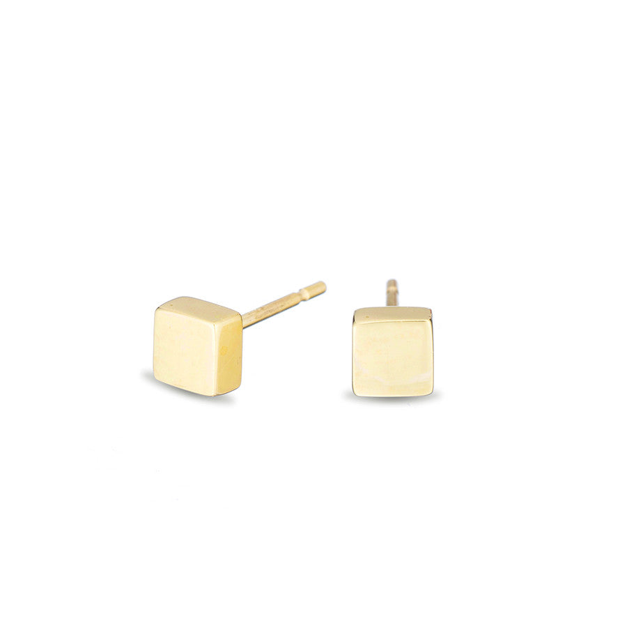 Cube Post Earrings