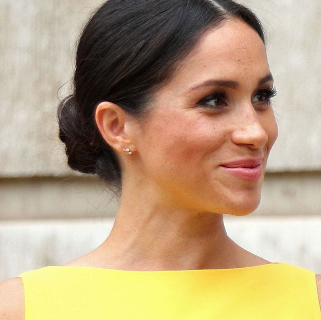 Image result for meghan markle earrings