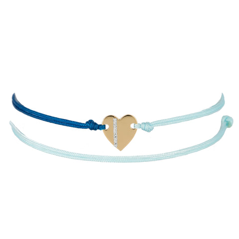 Tiny Heart Friendship Bracelet
