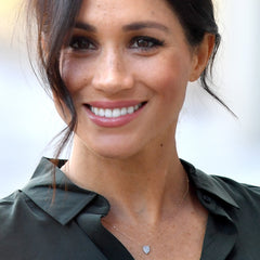 Meghan Markle in Adina Reyter teardrop necklace