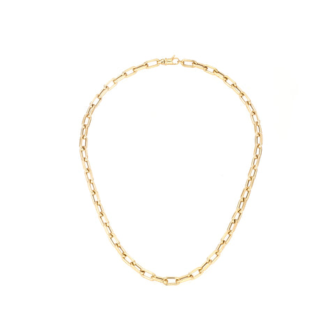 5.3mm Italian Chain Link Necklace