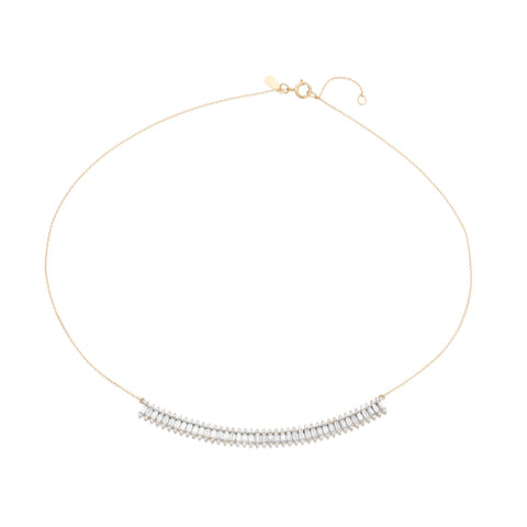 Stack Baguette Curve Collar