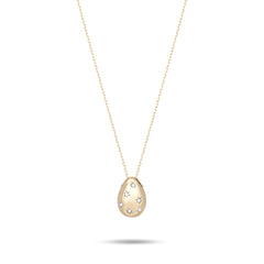 Celestial Diamonds Pear Necklace
