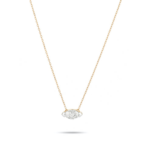 Grace Single Marquise Necklace