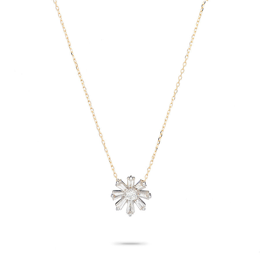 d gold round ct cross in brilliant baguette necklace diamond cut pendant necklaces white twt