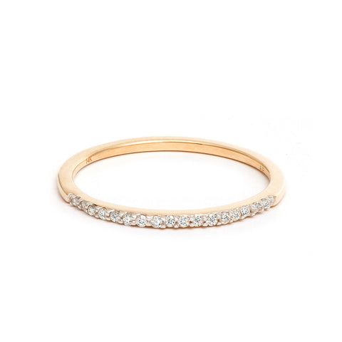 Pavé Band Ring