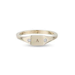 Small Square Signet Ring