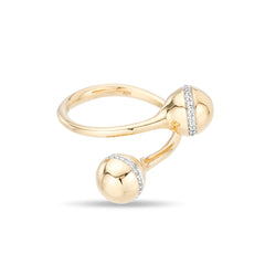 Pavé Orbit Wrap Ring