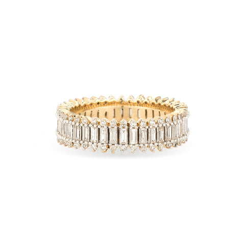 Full Stack Baguette Ring
