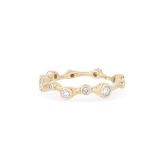 Diamond Barnacles Eternity Ring