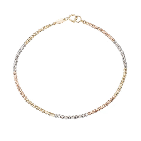 Ombre Beaded Chain Bracelet