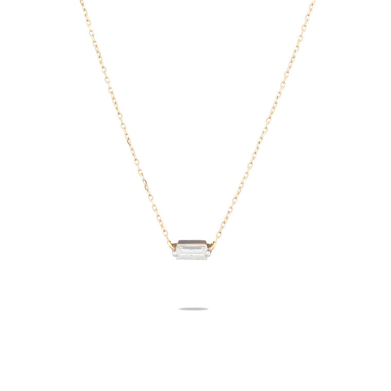 Single Baguette Necklace