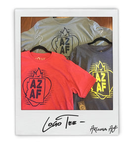 AZ AF Mens Logo Tee - AZ•AF Clothing - Local Apparel