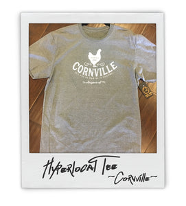 Cornville Hyperlocal Mens (uni) Tee - AZ•AF Clothing - Local Apparel