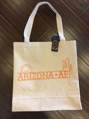 AZ AF Throwback Tote - AZ•AF Clothing - Local Apparel