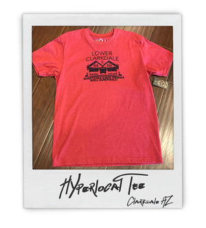 Lower Clarkdale Hyperlocal Mens Tee - AZ•AF Clothing - Local Apparel