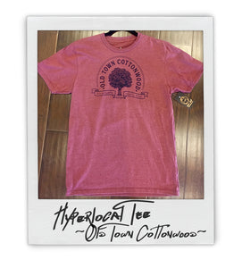 Old Town Cottonwood Hyperlocal Mens (uni) Tee - AZ•AF Clothing - Local Apparel