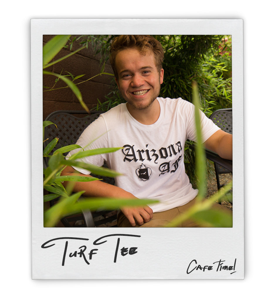 AZAF Turf Tee - AZ•AF Clothing - Local Apparel