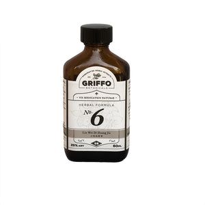 No. 6 - liu wei di huang wan - six ingredient Griffo Botanicals chinese herb tinctures extracts