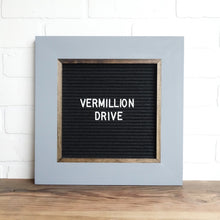 Gray - Classic Frame - Letter Board - Small