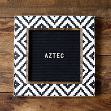 Aztec - Classic Frame - Letter Board - Small