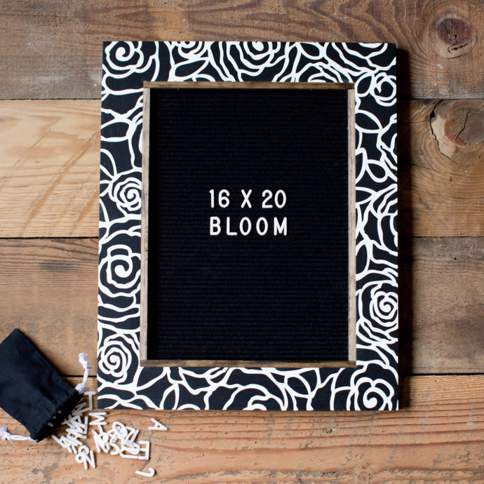 Bloom - Classic Frame - Letter Board - Large