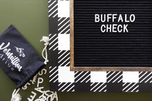 Buffalo Check - Classic Frame - Letter Board - Large