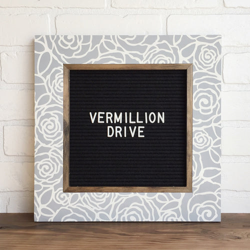 Bloom - Classic Frame - Letter Board - Small