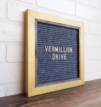 Metallic Gold - Chic Frame - Letter Board - Small