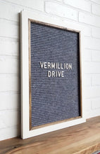 White - Chic Frame - Letter Board - Large