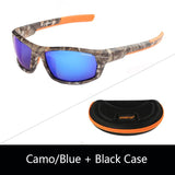 Camo Black Polarized UV400 Sunglasses-Galisteo Supply Company