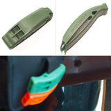Emergency Plastic Whistle With Clip-Galisteo Supply Company