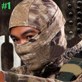 Full Face Rattlesnake Tactical Mask-Galisteo Supply Company