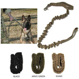 Nylon Tactical Bungee Dog Leash-Galisteo Supply Company