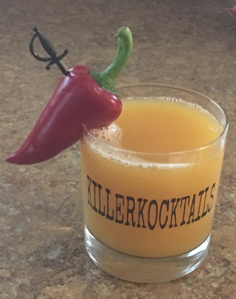 Killer Kocktails Rocks Glasses