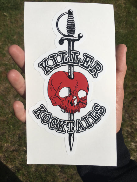 Killer Kocktails Vinyl Sticker
