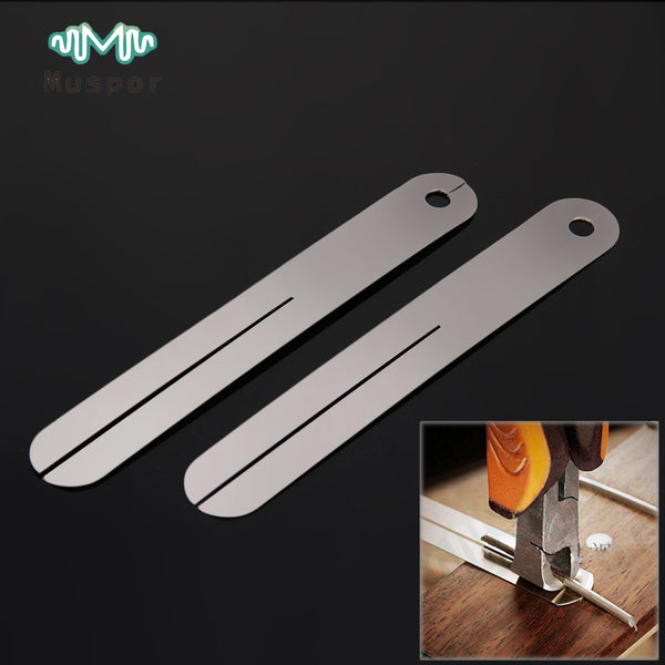 Steel Plate Fret Repair Tool Fingerboard Protector for Guitar