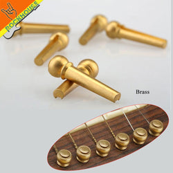 High Quality Guitar Strings Pegs for Acoustic Guitar (Copper, Silver, Brass)