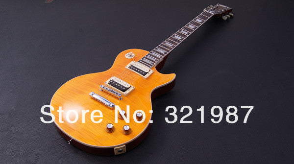 Tiger Stripe Flame Custom Les Paul 1959 Electric Guitar