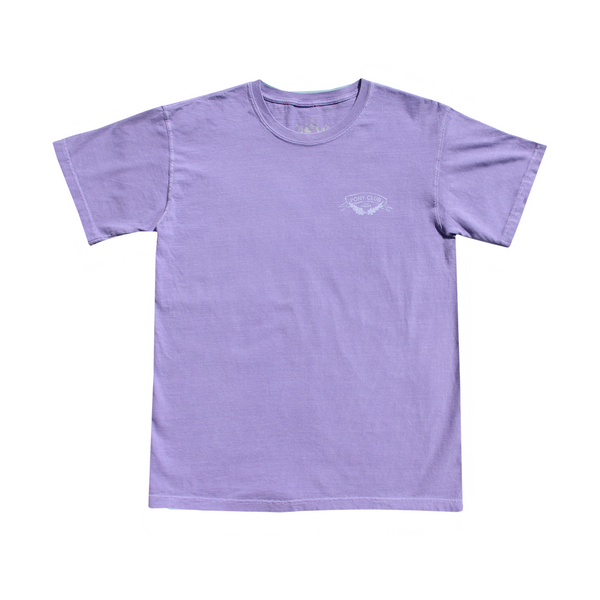 Violet Washed Short Sleeve Tee