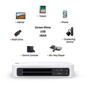 "Amazon.com: XGIMI Z6 Polar 1080p Full HD Smart Mini Projector, 700 ANSI lm,4k, Auto Focus, Harman Kardon Stereo, WiFi, Bluetooth, HDMI, USB, 3D Home Theater Video Projector, 180"" Picture: Gateway - Swix Electronics, LLC"