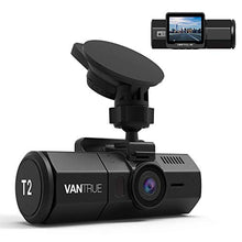 Load image into Gallery viewer, Amazon.com: Vantrue T2 24/7 Surveillance Super Capacitor Dash Cam 1920x1080P 2.0'' LCD 160° Car Camera w/Wave Guard Parking Mode Dashboard Recorder, OBD Hardwire, Night Vision, Sony Sensor, Support 256GB Max: Electronics - Swix Electronics, LLC