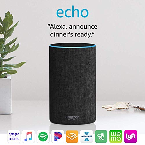 Amazon Echo (2nd generation) — Alexa Speaker - Swix Electronics, LLC