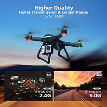 Load image into Gallery viewer, Amazon.com: Holy Stone HS700 FPV Drone with 1080p HD Camera Live Video and GPS Return Home, RC Quadcopter for Adults Beginners with Brushless Motor, Follow Me, 5G WiFi Transmission, Fit with GoPro Camera: Gateway - Swix Electronics, LLC