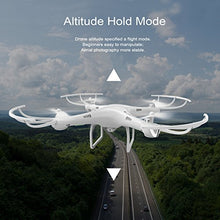 Load image into Gallery viewer, Amazon.com: Cheerwing CW4 RC Drone with 720P HD Camera with Altitude Hold Mode and One Key Take Off Landing: Video Games - Swix Electronics, LLC