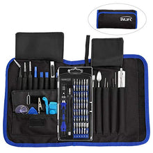 Load image into Gallery viewer, Amazon.com: Repair Tools Kit, Precision Screwdriver Set with Flexible Shaft, INLIFE 81 in 1 Professional Electronics Magnetic Driver Kit with Portable Bag for Laptop, iPhone, iPad, Cellphone, PC, Camera, Macbook: Gateway - Swix Electronics, LLC