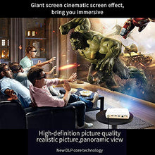 Load image into Gallery viewer, Amazon.com: WOWOTO H10 Video Projector Android 6.0 Smart 3D DLP Projector 450Ansi Lumen Support 4K 1080P with 2GB RAM/16GB ROM HDMI WiFi Bluetooth with Portable Carrying Case: Gateway - Swix Electronics, LLC