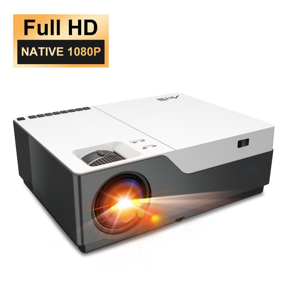 Artlii HD 1080P Projector Native  Beamer, LED Video Projector, Home Theater Projector, Zoom, HDMI, PowerPoint Presentation - Swix Electronics, LLC